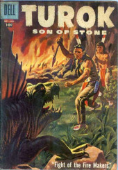 Turok, son of stone (Dell - 1956) -9- Fight of the Fire Makers