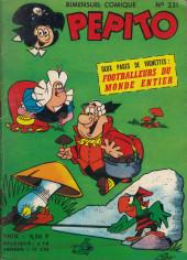 Pepito (1re Série - SAGE) -231- Des lunettes... pas à l'oeil !