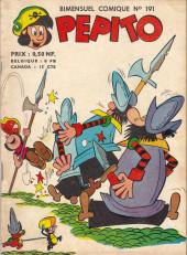 Pepito (1re Série - SAGE) -191- Le manoir à surprises