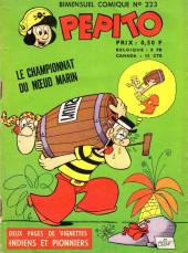 Pepito (1re Série - SAGE) -223- Le championnat du noeud marin