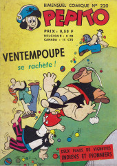Pepito (1re Série - SAGE) -220- Ventempoupe se rachète !
