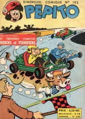 Pepito (1re Série - SAGE) -192- Le manoir à surprises