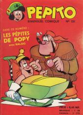Pepito (1re Série - SAGE) -151- Le cousin du Bosco