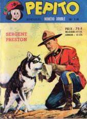 Pepito (1re Série - SAGE) -110- Sergent Preston