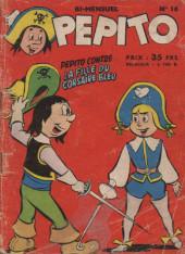 Pepito (1re Série - SAGE) -16- Pepito contre la fille du corsaire bleu
