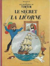 Tintin (Historique) -11B26- Le Secret de la Licorne