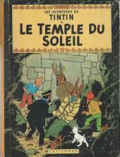 Tintin (Historique) -14B32- Le temple du soleil