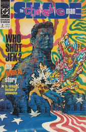 Couverture de Shade, the Changing Man (1990) -2- Who Shot JFK?