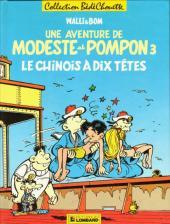 Modeste et Pompon (Walli) -3- Le chinois à dix têtes