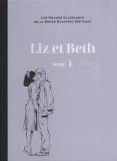 Les grands Classiques de la Bande Dessinée érotique - La Collection -5915- Liz et Beth - Tome 4