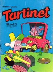 Tartinet -72- Les mémoires de Tartine