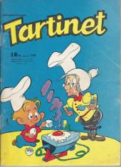 Tartinet -114- Les statues s'en mêlent