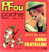 Pifou (Poche) -40- Animé par Annie Fratellini