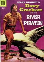 Four Color Comics (Dell - 1942) -671- Davy Crockett and the River Pirates