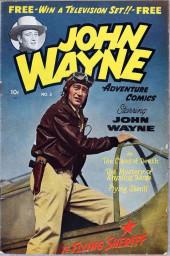 John Wayne Adventure Comics (1949) -3- The Claws of Death