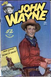 John Wayne Adventure Comics (1949) -5- Volcano Of Death