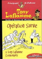 Tony Laflamme -INT4- Opération survie et Tony Laflamme cosmonaute