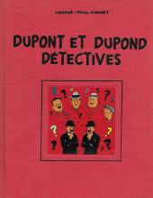 Tintin - Pastiches, parodies & pirates -HC- Dupont et Dupond détectives