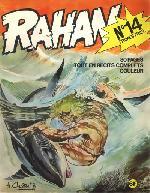 Rahan (1re Série - Vaillant) -14- Ceux de la terre haute / les coquillages bleus