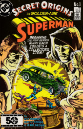 Secret origins (1986) -1- The Secret Origin of the Golden-Age Superman