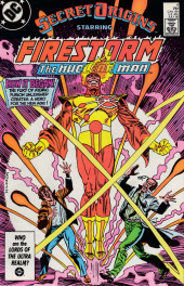 Secret origins (1986) -4- The Secret Origin of Firestorm, the Nuclear Man