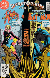 Secret origins (1986) -6- Secret Origin of the Golden Age Batman/ Fallen Angel