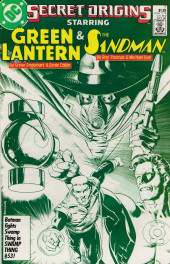Secret origins (1986) -7- The Secret Origin of Green Lantern and the Golden Age Sandman