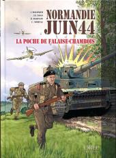 Normandie juin 44 -6- La poche de Falaise-Chambois
