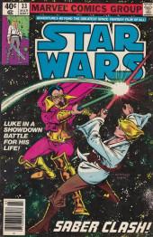 Star Wars (1977) -33- Saber Clash!