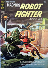 Magnus, Robot Fighter 4000 AD (Gold Key - 1963) -8- Havoc at Weather-Control!