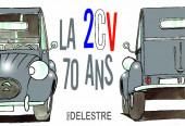 (AUT) Delestre - La 2CV 70 ans