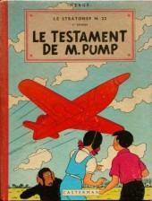 Jo, Zette et Jocko (Les Aventures de) -1B24- Le testament de m. pump