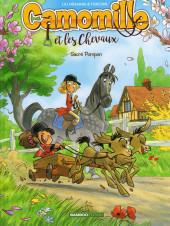 Camomille et les chevaux -2a18- Sacré Pompon
