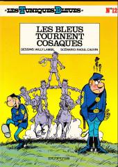 Les tuniques Bleues -12b1987- Les bleus tournent cosaques