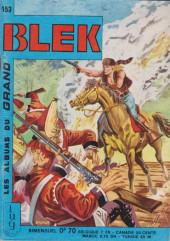 Blek (Les albums du Grand) -153- Numéro 153