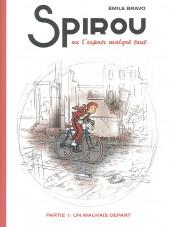 Spirou et Fantasio (Une aventure de.../Le Spirou de...) -14HC- L'Espoir malgré tout - Première partie - Un mauvais départ