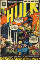 L'incroyable Hulk (Éditions Héritage) -17- Violence de l'autre côté du soleil!