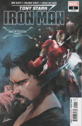 Tony Stark: Iron Man (2018) -1A- Self-Made Man Part One: What's the Big Idea?