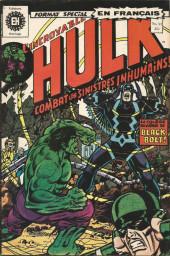 L'incroyable Hulk (Éditions Héritage) -34- La brute humaine au pays caché!