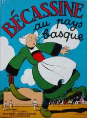 Bécassine -12b69- Bécassine au Pays Basque
