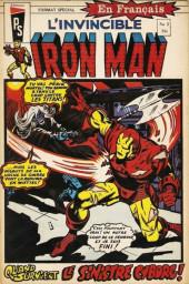 L'invincible Iron Man (Éditions Héritage) -2- Quand vient le sinistre Cyborg!
