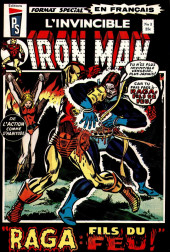 L'invincible Iron Man (Éditions Héritage) -3- Raga: fils du feu!
