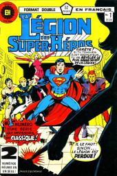 La légion des super-héros (Éditions Héritage) -1- Le passé dans un sombre miroir
