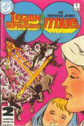La légion des super-héros et les nouveaux jeunes Titans (Editions Héritage) -7- Bataille de Titans!