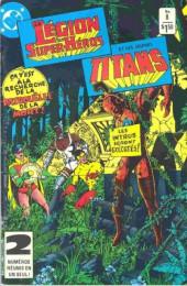 La légion des super-héros et les nouveaux jeunes Titans (Editions Héritage) -8- Au cœur de la nuit