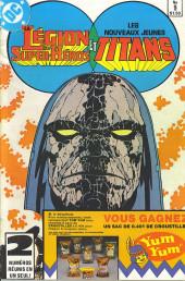 La légion des super-héros et les nouveaux jeunes Titans (Editions Héritage) -9- Révolution!