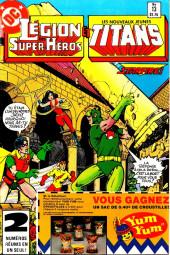 La légion des super-héros et les nouveaux jeunes Titans (Editions Héritage) -13- Une jolie fille est comme une... Maladie !