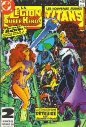 La légion des super-héros et les nouveaux jeunes Titans (Editions Héritage) -18- Enlèvement!