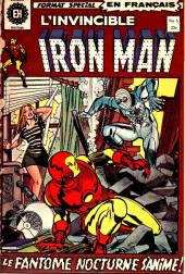 L'invincible Iron Man (Éditions Héritage) -5- Le fantôme nocturne s'anime