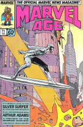Marvel Age (1983) -71- A Look At Silver Surfer
